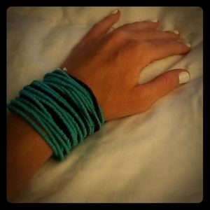Kenneth Cole Bracelet (teal and brown)